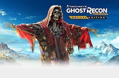 Tom Clancy's Ghost Recon Wildlands -DELUXE EDITION- Key PC Download Code (uplay)