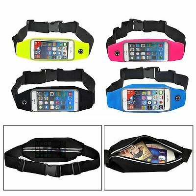 Running Jogging Sports Gym Waist Belt Bag Case Cover Strap for mobile phones