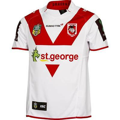 St George Illawarra Dragons ISC NRL Home Jersey Sizes XS-7XL! BNWT's! 5