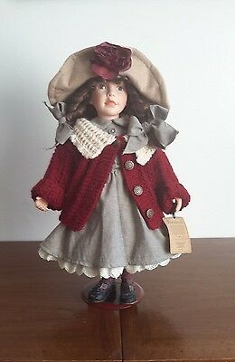 Boyds Collectable Candice 17 inches Doll and Bear