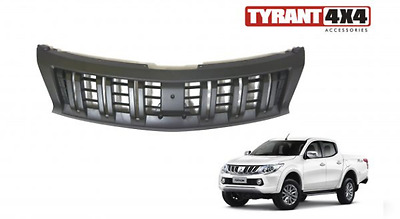 Mitsubishi Triton MQ Black Grille Guard Grill Replacement 2015 2016 GLS Exceed