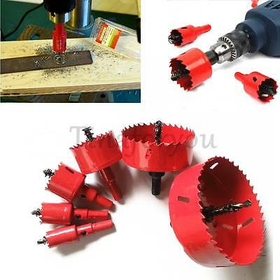 Red M42 Hole Saw Tooth Holesaw Drill Bit Cutter Tool for Metal Wood Alloy