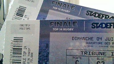 2 Places Cote A Cote Cat1 Rugby Finale Top 14 04/06 Sdf