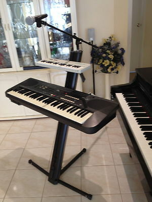 Replica Ultimate Style Portable 2 Tier Keyboard Stand & Bag & Microphone Boom