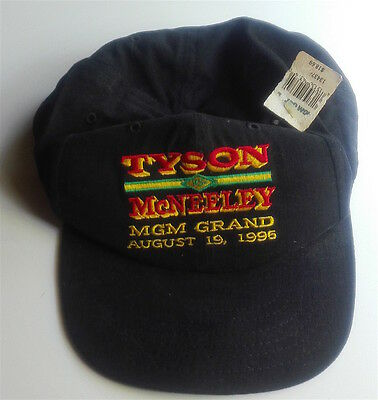 Mike Tyson Peter Mcneely Cap 1995 Mgm Grand Never Worn Original Tag *vintage*