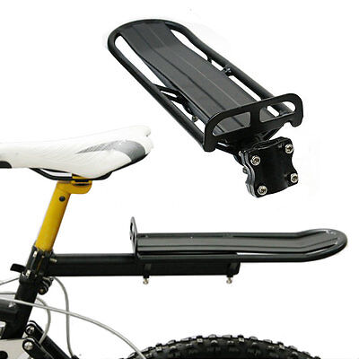 Aluminium Alloy Bicycle Bike Seat Post Rear Carrier Cargo Rack Extendable GT