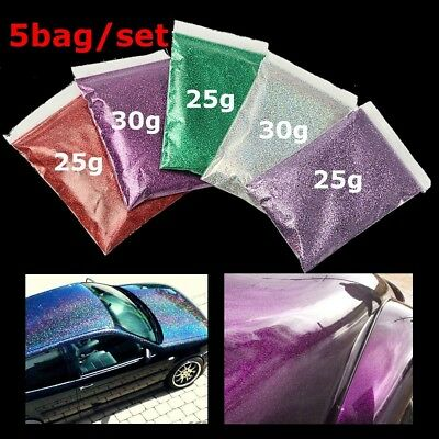 Red/Purple/Green/Silver/Lavender Glitter Metal Flake Auto Car Paint Additive