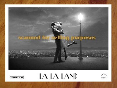 LA LA LAND rare Press Kit & 40 B&W Photo Set RYAN GOSLING Emma Stone OSCAR Movie