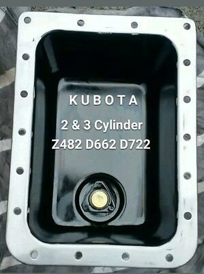 Kubota Z482 D722 D662 Diesel Engine Oil Pan APU Generator 2/3 Cylinder High Vol