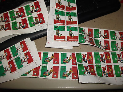 40 sets Sports Stamps/World Cup Football 90/Olympics 92