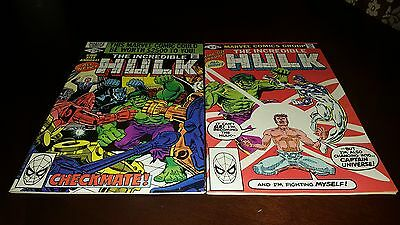 Incredible Hulk King Size Annual #9 #10 Vf/nm-..1980-81