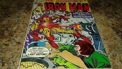 Iron Man #77 (Aug 1975, Marvel) VF/NM-...THE MAD THINKER!!!...GEM!!