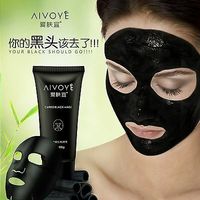 Premium AIVOYE AFY Cured Black Mask 60g Facial Black Head Remover Packing