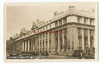Ireland Dublin College of Science & Government Buildings Vintage Postcard 29.3