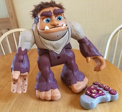 Fisher-Price Imaginext Big Foot Interactive Remote Controlled Toy - (Rare)