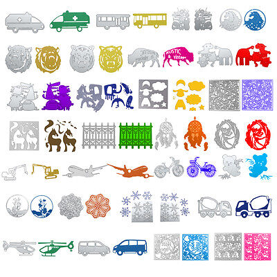 Metal Die DIY Cutting Dies Stencil Scrapbook Album Paper Cards Craft Decor Gifts