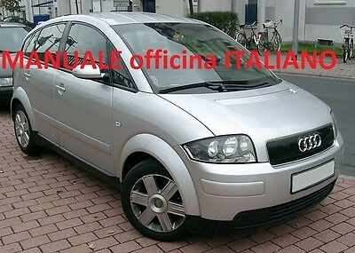 AUDI A2 (1999/2005) Manuale Officina ITALIANO SU CD