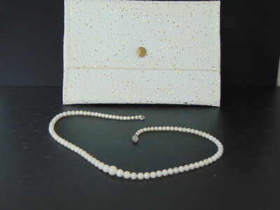 Stunning, Collectable Fine Cultured Pearls with Case