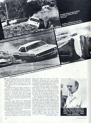 Barry Newman In Vanishing Point Article & Picture(s)