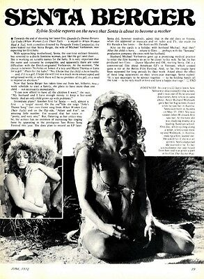 Senta Berger In When Women Lost Their Tails Article & Picture(S)