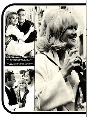 Judy Geeson Faces The Cameras Again After Her Mystery Illness Article & Picture(
