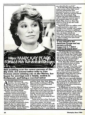 How Mary Kay Place Fulfilled Her American Dreams Article & Picture(S)
