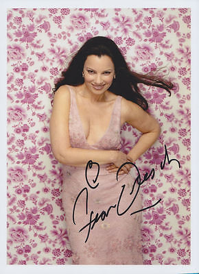FRAN DRESCHER in person signed glossy color photo *THE NANNY*