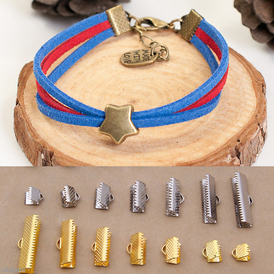 100X DIY Findings Buckle CLASP Lobster Screw Connector Bracelet Jewelry Necklace
