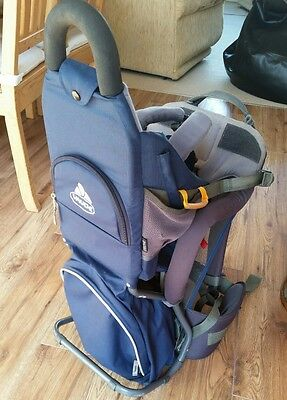 Vaude Swing, Lightweight Baby/Child Carrier Backpack