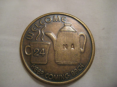 Bronze Coffee Pot Recovery  Medallion
