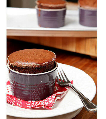Penny Recipes for Family and Friends, Dark Chocolate Soufflés 36 mins to make