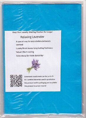 NEW! Calming Lavender Fragrance Scented Drawer Liners Refill  Pack 3 FREE P&P UK