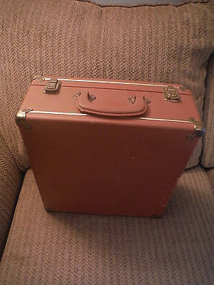 VINTAGE Red Wing Shoes Irish Setter Sport Boots Hard Box Brown Suitcase
