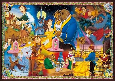 Tenyo Jigsaw Puzzle DW-1000-479 Disney Beauty and the Beast Eternity Love