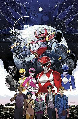 Go Go Power Rangers #1 (C: 1-0-0)