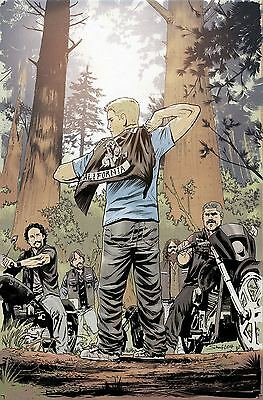 Sons Of Anarchy Redwood Original #12 Subscription Scharf Var (Mr)