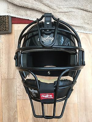Rawlings Catchers Helmet AI1-b-81 Black Excellent condition never used AI1B81