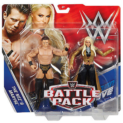 WWE Battle Pack Series 46 - The Miz and Maryse Figures