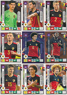 Panini Adrenalyn XL, Road to Russia 2018, Belgien (alle 18 Karten) -a