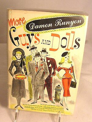 Salvation Army - DARSCOVER BOOK - GUYS & DOLLS BY DAMON RUNYAN