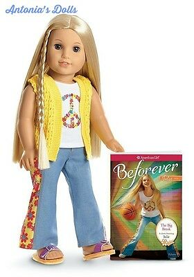 American Girl - Beforever Julie Doll and Paperback Book - NEW NIB