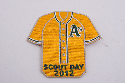 Oakland As Baseball Team Boy Cub Scout Day 2012 Patch (C3L)