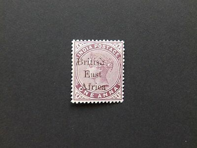 BRITISH EAST AFRICA 1895 M/MINT 1a PLUM STAMP SG50