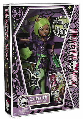 Monster High Doll Dawn of the Dance Clawdeen Wolf Doll