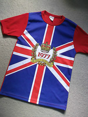 The Queen's Silver Jubilee 1977 T Shirt Top Punk Vintage Retro Original Xs Sz 8
