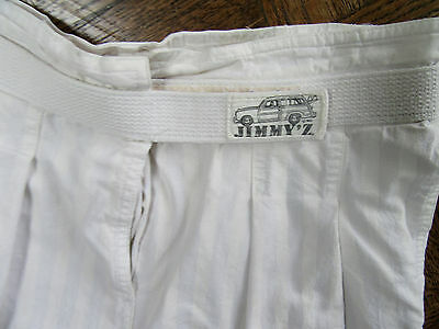 "Vintage 1980's Rare, Jimmy'z Surf Shorts 28"" - 31"" (Velcro) Orig. $69.00 In 1980"