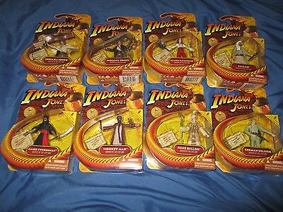 "INDIANA JONES Hasbro Movie Figure Loet/Set 3.75""/3 3/4"" ~Marion/Belloq/German +"