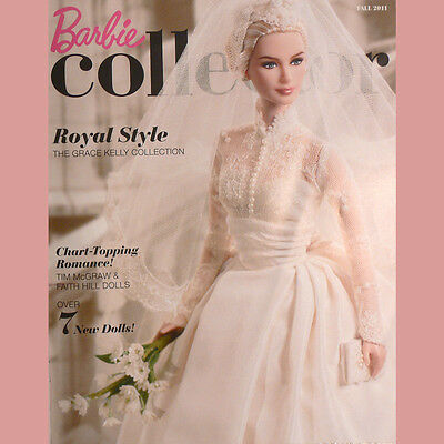 BARBIE COLLECTOR Catalog FALL 2011 Grace Kelly Bride VELLUM COVER