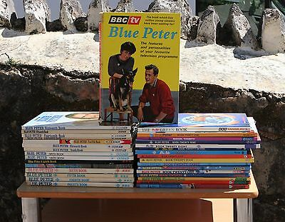 Blue Peter Annuals Including First Edition John Noakes