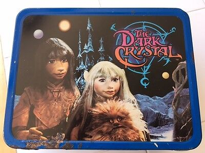 "Metal Lunchbox ""THE DARK CRYSTAL"" King-Seeley Thermos Co. 1982 Lunchbox Only"